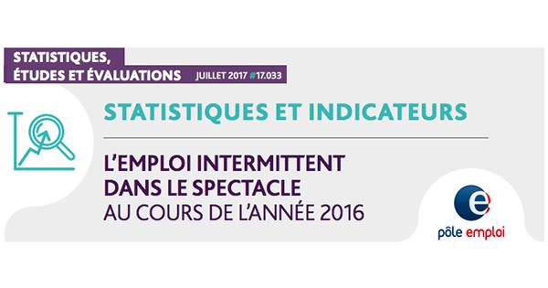 L Emploi Intermittent Dans Le Spectacle Au Cours De L Annee 2016 Afar